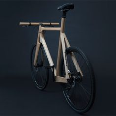 Wooden Bicycle_1
