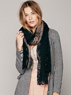 Pieced Lace Scarf $48