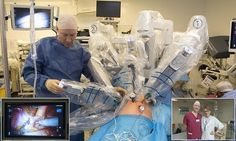 'Robot surgery' could save men from deadly prostate cancer #DailyMail