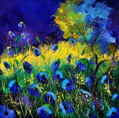 Pol Ledent(Belgium)「Blue poppies 6641」