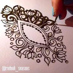 Beautiful henna by mehndi season - Henna designs hand - Henna Hand Designs, Henna Tattoo Designs, Mehndi Tattoo, Henna Tattoos, Mehandi Designs, Henna Tattoo Muster, Henna Flower Designs, Beginner Henna Designs, Indian Mehndi Designs
