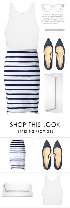 """Nautical"" by galina-gavrailova ❤ liked on Polyvore featuring Harvey Faircloth, Alasdair, Oleg Cassini, Michael Kors, Helmut Lang and Muse"