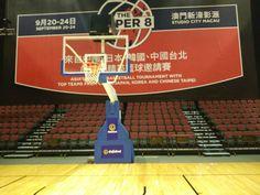 Indoor Fiba Certified Electric Hydraulic Folding Movable Basketball Goal Hoop Usc Basketball Indoor Basketball Court Basketball Court Flooring