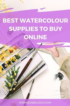 As an artist, you need to learn about the essential watercolour painting supplies that will set you up for success. So click here for a supplies guide to learn about which recommended products are best suited for beginner artists. Find out about the best affordable watercolour supplies including watercolour brushes, watercolour paper, and paint sets. Best of all, these art supplies can be purchased online! Watercolor Paintings For Beginners, Acrylic Painting Tutorials, Watercolor Brushes, Easy Watercolor, Watercolour Tutorials, Watercolour Painting, Importance Of Art Education, Art Education Projects, Step By Step Watercolor