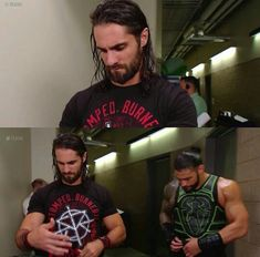 Rolleigns RAW 02//07/18 Dick27Ambrose Seth Freakin Rollins, Seth Rollins, The Shield Wwe, Roman Reings, Wrestling Superstars, Maid Of Honor, Reign, The Man, Actors & Actresses
