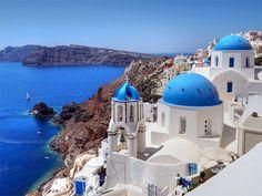 Athens - Mykonos - Santorini - Island Hopping Holiday in Greece Mykonos, Santorini Island Greece, Paros, Greece Tours, Zakynthos, Island Cruises, 100 Things To Do, Greece Vacation, Church Architecture