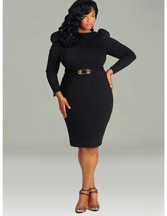 PLUS SIZE LITTLE BLACK DRESSES - Nasha Bendes