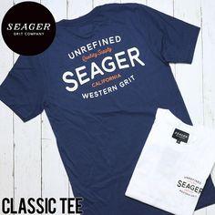 [クリックポスト対応] SEAGER シーガー CLASSIC TEE 半袖Tシャツ | BRAND,SEAGER | LUG Lowrs