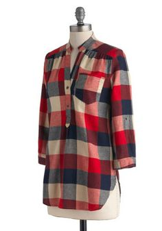 Plaid is another classic  homescholler fashion piece! #homeschoolerfashion