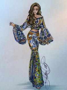 How to Draw a Fashionable Dress - Drawing On Demand Dress Design Sketches, Fashion Design Sketchbook, Fashion Design Drawings, Fashion Sketches, Drawing Sketches, Drawing Ideas, Fashion Drawing Dresses, Fashion Illustration Dresses, Fashion Dresses