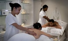 The award-winning Spa at The Twelve Apostles hotel in Cape Town, South Africa offers luxury manicures, pedicures and waxing spa treatments.