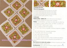 croche com receitas caminho de mesa em square de croche com receitas
