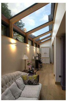 Glass House Design, Modern House Design, Modern Glass House, House Extension Design, Pallet Patio Furniture, Small Backyard Gardens, Balcony Garden, Small Backyards, Small Patio