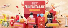 GearBest Prime Mega Sale for All Gadgets, Save More Up to 78%