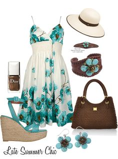 """""""Late Summer Chic"""" by funnygr on Polyvore"""