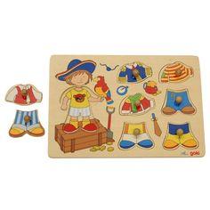 Boy Puzzle Dress-Up   KidAdvance.com