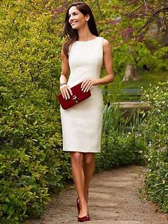 Shift Dress for work functions. | Professional Style Guide @ Levo