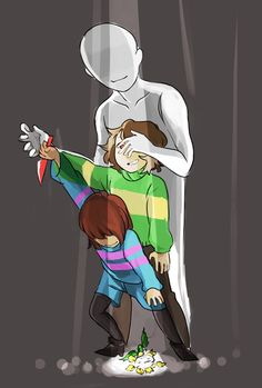 Most Undertale fanarts depict Chara pulling the strings in a genocide run, but this one pins the blame on the player. This is the whole point of the game, I think.///this is what it is supposed to be. Undertale Comic, Undertale Memes, Undertale Drawings, Undertale Ships, Undertale Cute, Undertale Fanart, Frisk, Undertale Amino, Chara