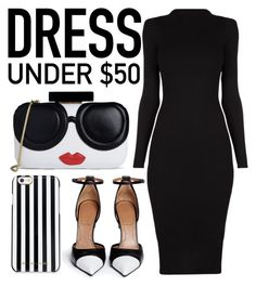 """""""Untitled #651"""" by lillybernet ❤ liked on Polyvore featuring Givenchy, Alice + Olivia, MICHAEL Michael Kors and Dressunder50"""