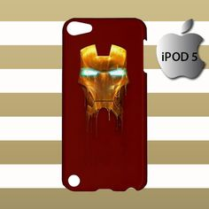 Iron Man Mask iPod 5 5g 5th Touch Case Cover Hardshell