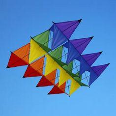 Aurora Box Kite | Cellular Kite | Windrush Online Kite Shop