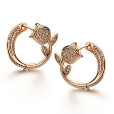 Cheap fashion hoop earrings, Buy Quality hoop earrings directly from China crystal hoop earrings Suppliers: ALLENCOCO 2017 New Fashion Mosaic AAA+ Zircon Crystal Hoop Earrings Fine Flower Earrings Italina Brand Jewelry for Women Diamond Hoop Earrings, Diamond Jewelry, Gold Jewelry, Jewelery, Stud Earrings, Flower Earrings, Indian Jewelry Sets, Turkish Jewelry, Gold Earrings Designs