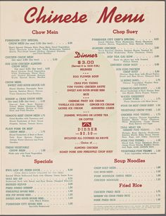 What's on the Menu? Help transcribe The New York Public Library's historical menu collection /via Restaurant Identity, Restaurant Menu Design, Vintage Restaurant, Chinese Restaurant, Vintage Menu, Vintage Recipes, Vintage Food, Vintage Stuff, Retro Ads