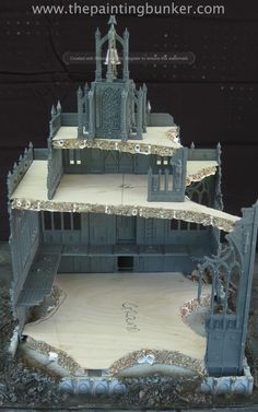 Forge World Realm of Battle Cityscape Shattered Plaza Cathedral 3 via www.thepaintingbunker.com