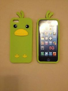 Hot 3D LT Green Anime Chick Soft Silicon Case Cover For Apple iPhone 5 5S 5C $4.69 via @Shopseen