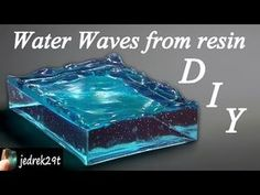 Decoration from epoxy resin. Crystal sprig with phosphorus . Decoration from epoxy resin. Crystal sprig with … Epoxy Resin Wood, Fiberglass Resin, Clear Epoxy Resin, Diy Epoxy, Diy Resin Water, Crystal Resin, Diy Resin Art, Diy Resin Crafts, How To Make Water