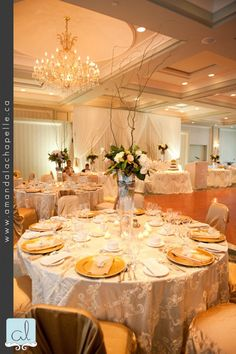Amanda Lachapelle Photography Dina & Gary Port Credit Waterside Inn Decor With Grandeur Toronto Wedding 1