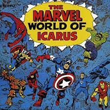 Icarus, Marvel World - Marvel World of Icarus [New CD] England - Import Ms Marvel, Marvel Comics, Daedalus And Icarus, Black Panther 1, Fantastic Four 1, Captain America 1, Spiderman 1, Iron Men 1, Thor 1