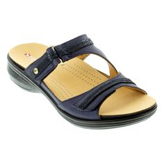 The gorgeous Revere Rio Slide is a comfy way of enhancing your warm-weather style. Featuring adjustable hook-and-loop straps. Leather Conditioner, Ankle Straps, Comfortable Shoes, Warm Weather, Perfect Fit, Fashion Forward, Rio, Footwear, Comfy