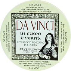 Pipe tobacco DTM Da Vinci label