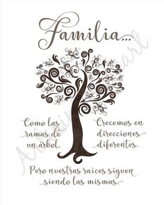 Family Quotes In Spanish Leadership Quote, Spanish Inspirational Quotes, Spanish Quotes, English Quotes, Inspiring Quotes, Family Theme, Family Love, Fake Family, Strong Family, Funny Family