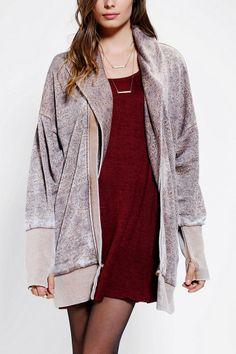 ALTERNATIVE Florence Wrap Hoodie Sweatshirt - Urban Outfitters