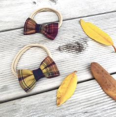 These Plaid hairbows would be the perfect stocking stuffers for your little girls! Baby Shower Gifts, Baby Gifts, Fabric Bows, Modern Kids, Toddler Hair, Girl Hair Bows, Kid Styles, Baby Essentials, Baby Bows