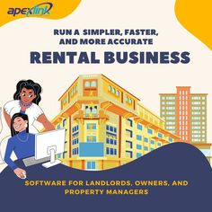 Owning a rental business but not sure how to streamline everything ideally? #ApexLink software has got you covered from all your #propertymanagement-related hassles. So, what else you've been seeking for? Get yourself access to it today. 📞 800-310-6702 🌐 www.apexlink.com