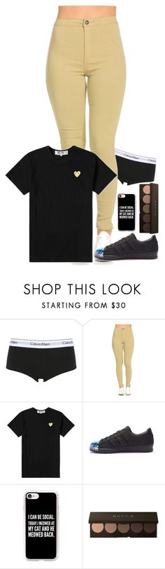 """""""."""" by bey0ndmignight ❤ liked on Polyvore featuring Calvin Klein Underwear, Play Comme des Garçons, adidas, Casetify, men's fashion and menswear"""
