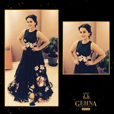 #MinisshaLamba looked gorgeous in #jewellery from #Gehna at the #ScreenAwards2016. This look was styled by #AasthaSharma #Bollywood #Celebrities #Celebs