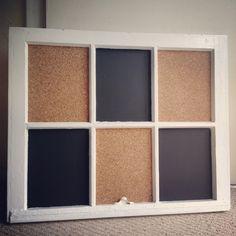 My repurposed window!