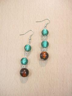 handmade #beaded earrings