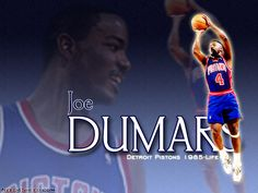 Joe Dumars | Joe Dumars is a former basketball player in the NBA, and currently the ...