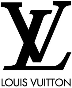 This image is of the Louis Vuitton logo. Louis Vuitton has a very distinguish logo with a large V and L. Over the years, like many other companies, Louis Vuitton has made slight changes to their design.
