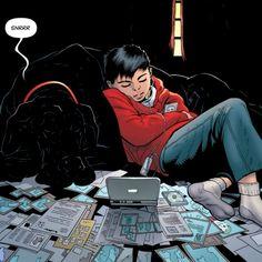 Batman Comic Art, Batman Comics, Dc Comics, Robin Comics, Baby Robin, Wayne Enterprises, Bat Animal, Talia Al Ghul, Batman The Dark Knight