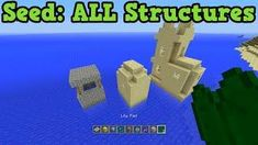 Minecraft Xbox 360 + PS3: ALL Structures On One Seed