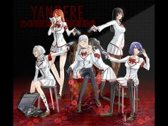 Yandere Manga, Yandere Girl, Animes Yandere, Fanarts Anime, Anime Characters, Yandere Simulator Characters, Yandere Simulator Memes, Ayano X Budo, Yendere Simulator