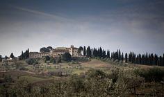 The Castillo de Nero, Tuscany, Italy