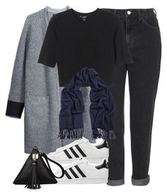 """""""Untitled #1628"""" by sophiasstyle ❤ liked on Polyvore featuring rag & bone/JEAN, Topshop, adidas Originals, Monki, Acne Studios, women's clothing, women, female, woman and misses"""