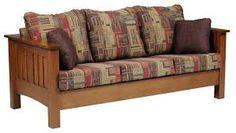 Image result for arts and crafts sofas